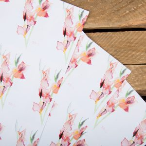 Gladioli Gift Wrapping paper