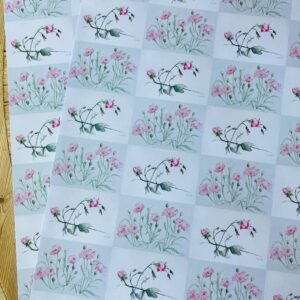 Poppy & Roses Wrapping paper